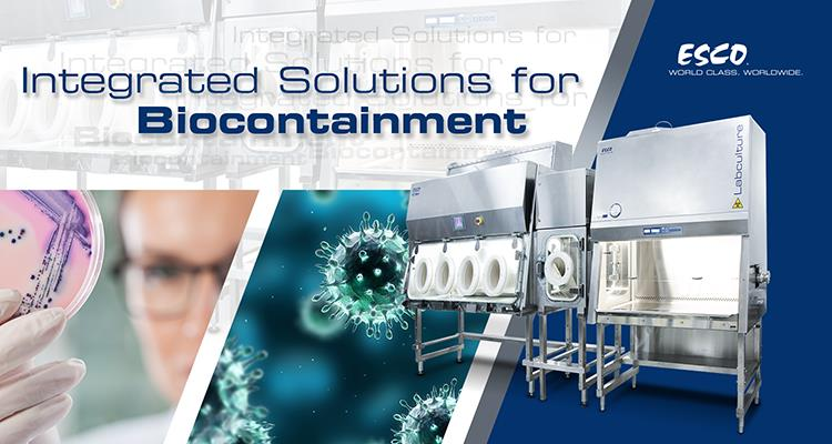 Esco Life Sciences and Healthcare is Strengthening its Core in Biocontainment
