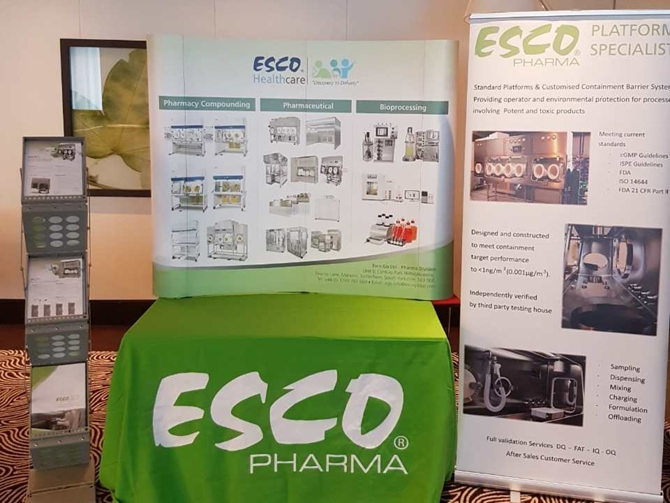 Esco Pharma at High Potent Medicines Conference 2017