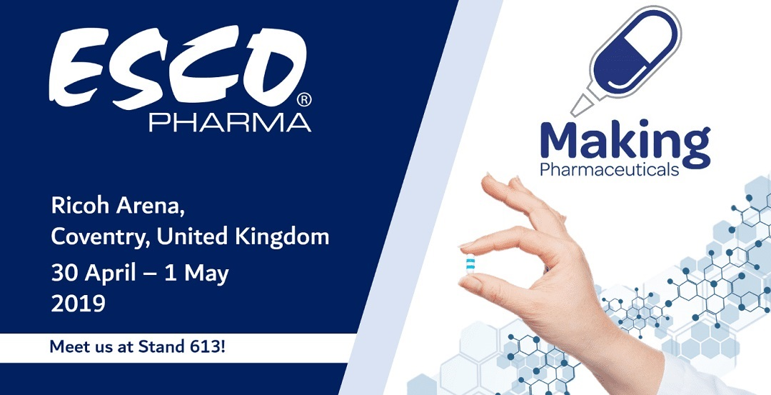 Esco Pharma is Back at Making Pharmaceuticals 2019!