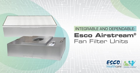 Integrable and Dependable: Esco Airstream® Fan Filter Units