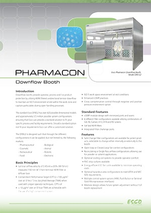 Pharmacon™ Downflow Booth Brochure​ (English)