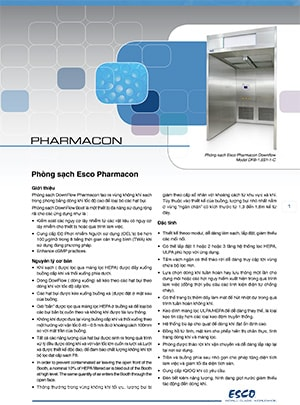 Pharmacon™ Downflow Booth Brochure​ (Veitnamese)​