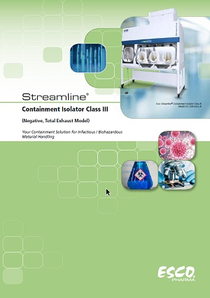 Streamline® Containment Isolator - Class III Brochure